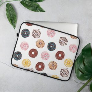 Mini Donuts Laptop Sleeve