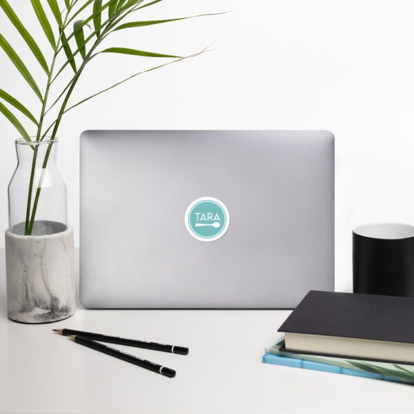 Tara Teaspoon Circle Bubble-free Stickers
