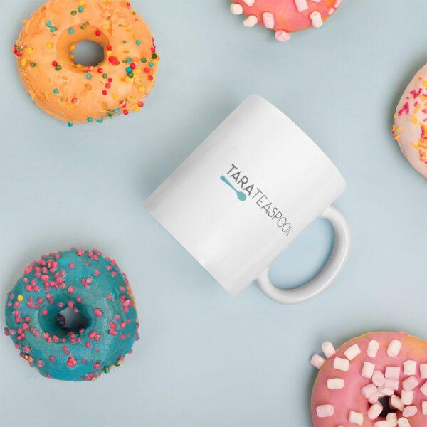 Tara Teaspoon Ceramic Mug