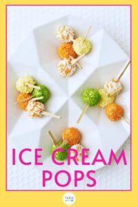 ice cream pops recipe pin