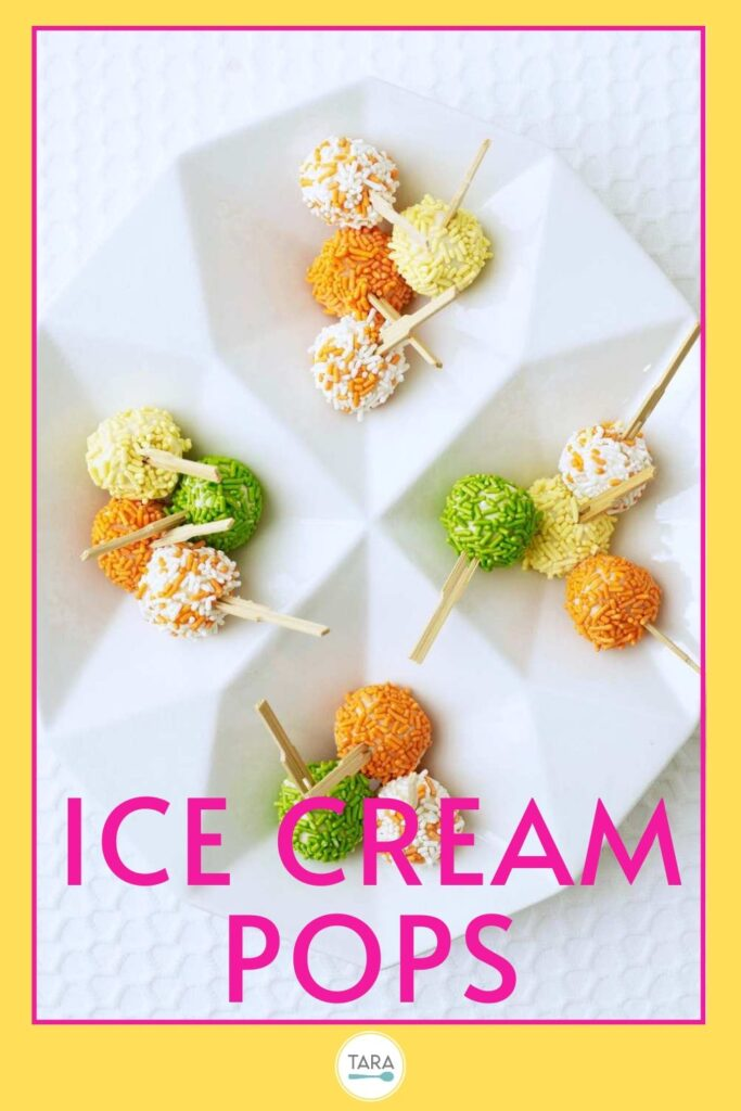ice cream pops recipe pin