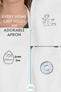 pin for foodie apron gifts