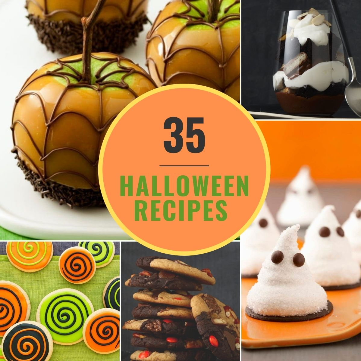 featured image of halloween recipes
