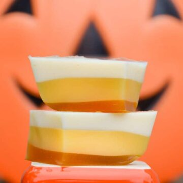 candy corn jello