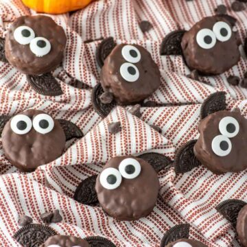 choc rice krispie bat treats
