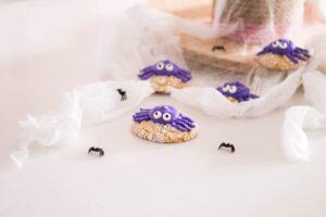 spider crinkle cookies