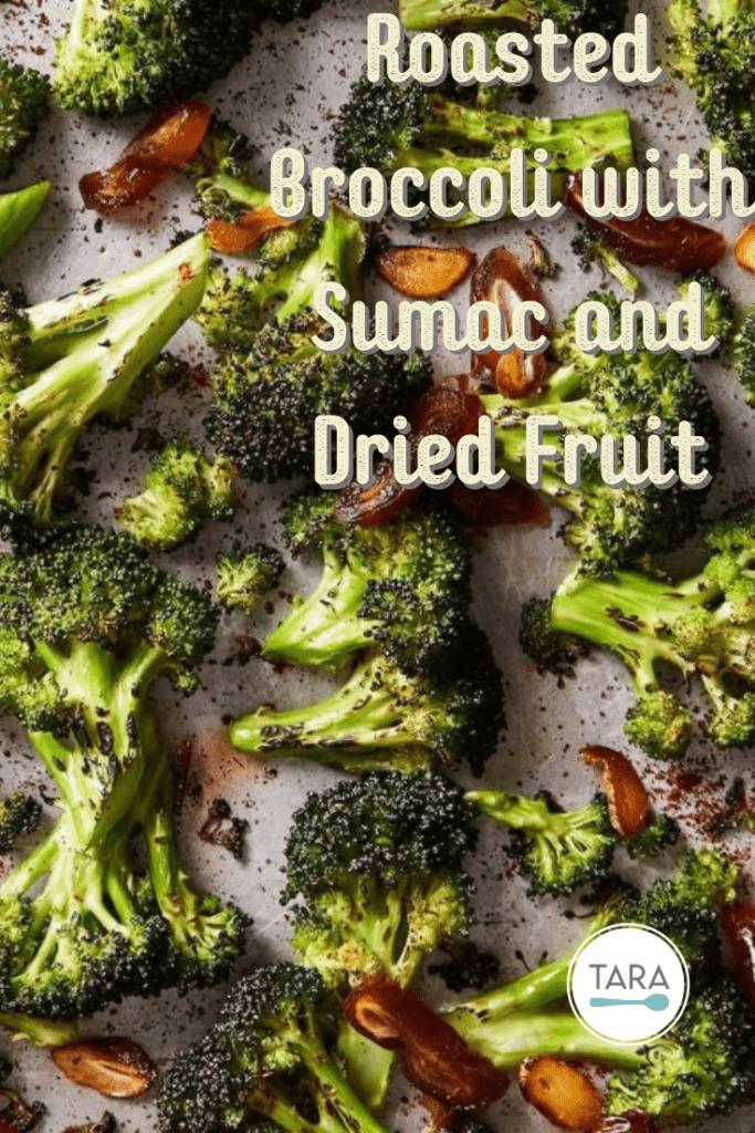 sumac roasted broccoli pin