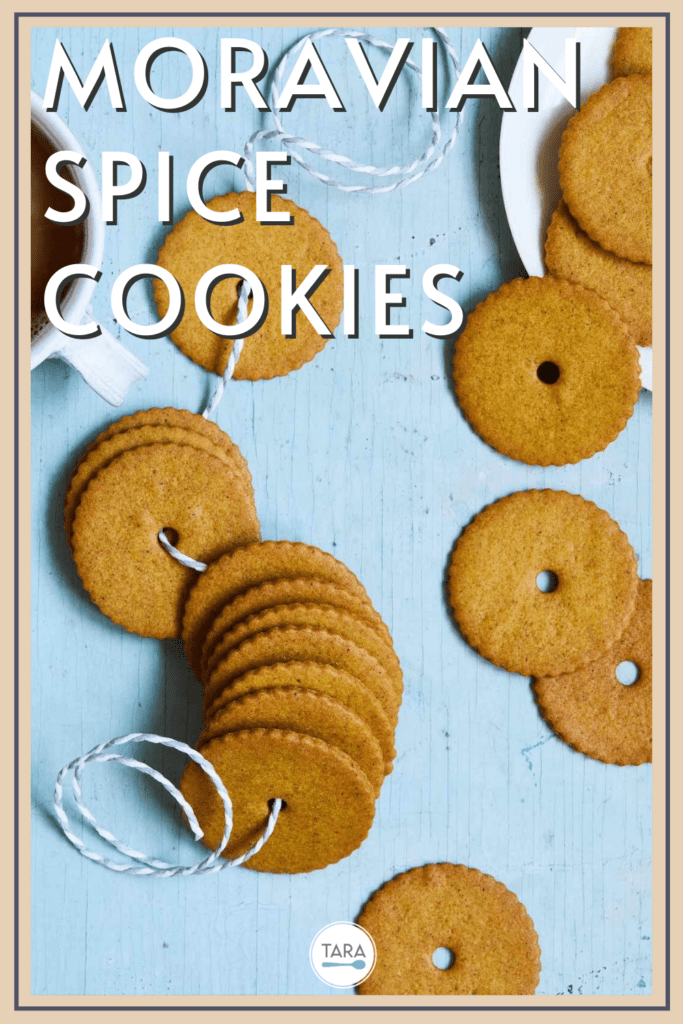 thin spice cookies with honey