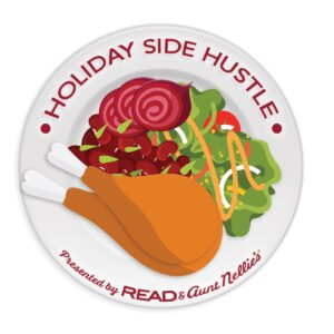Holiday Side Hustle logo for promotion