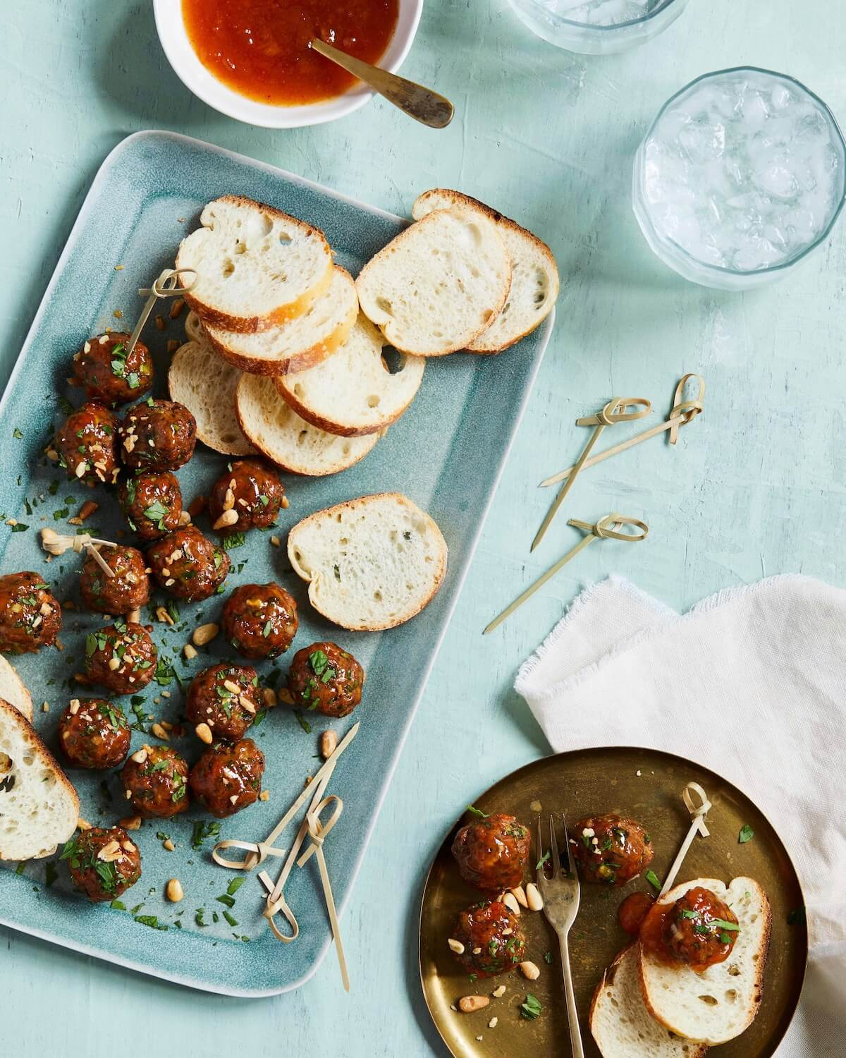 moroccan meatballs for dinner or snack
