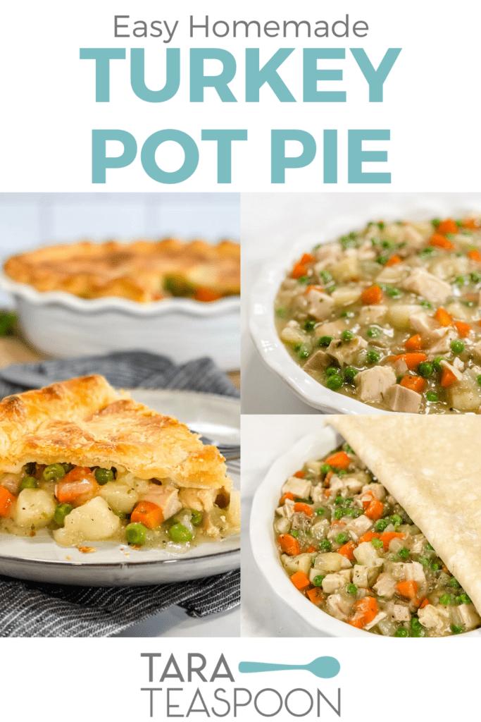 Turkey Pot Pie Process Shots Pin