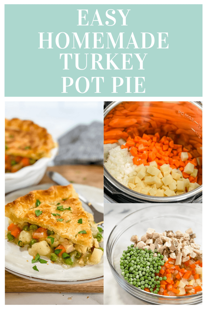 Turkey Pot Pie Pin Process Shots