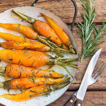 roasted carrots with rosemary