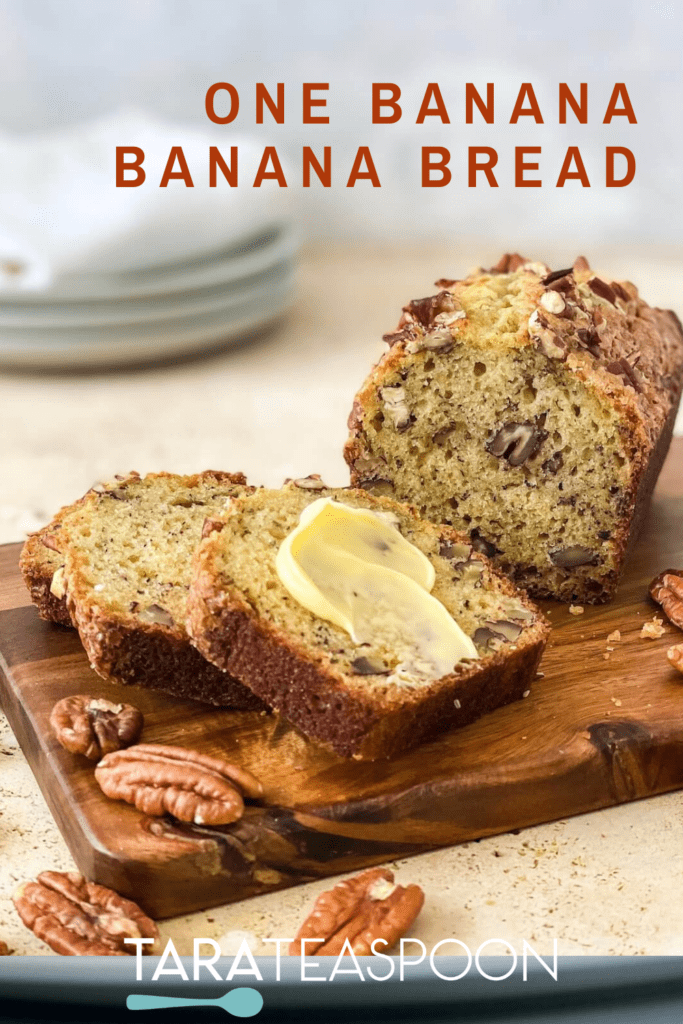 Banana Bread Pin with butter