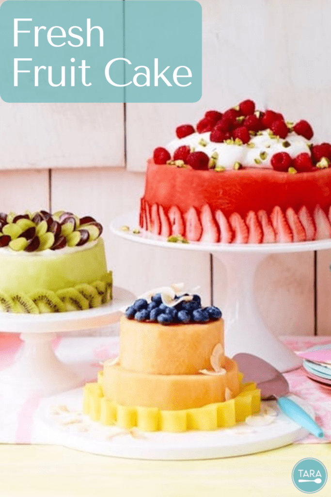 Pin for watermelon cake