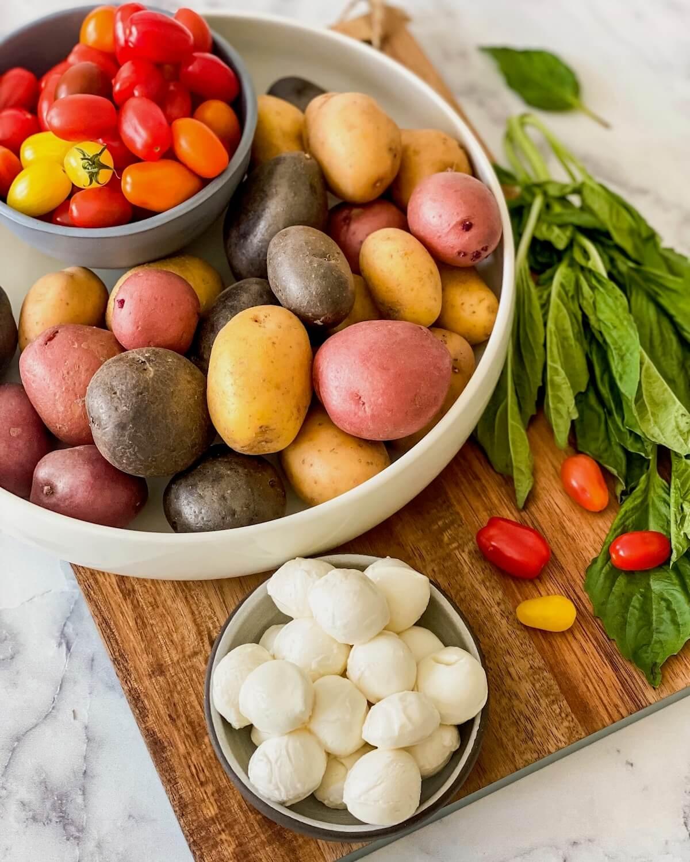 italian potato salad ingredients