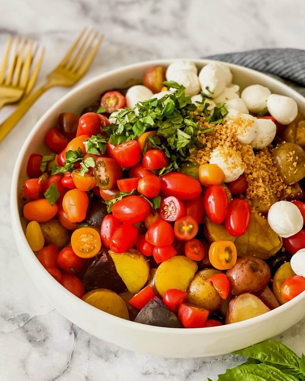 potato and tomato salad ingredients