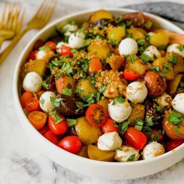 feature image Italian Potato salad