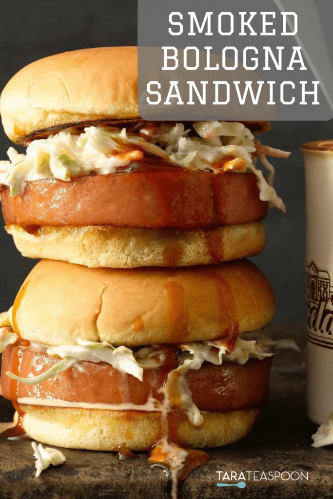 Memphis Smoked Bologna Sandwich